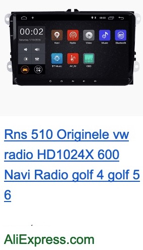 Chinese rns 510 look