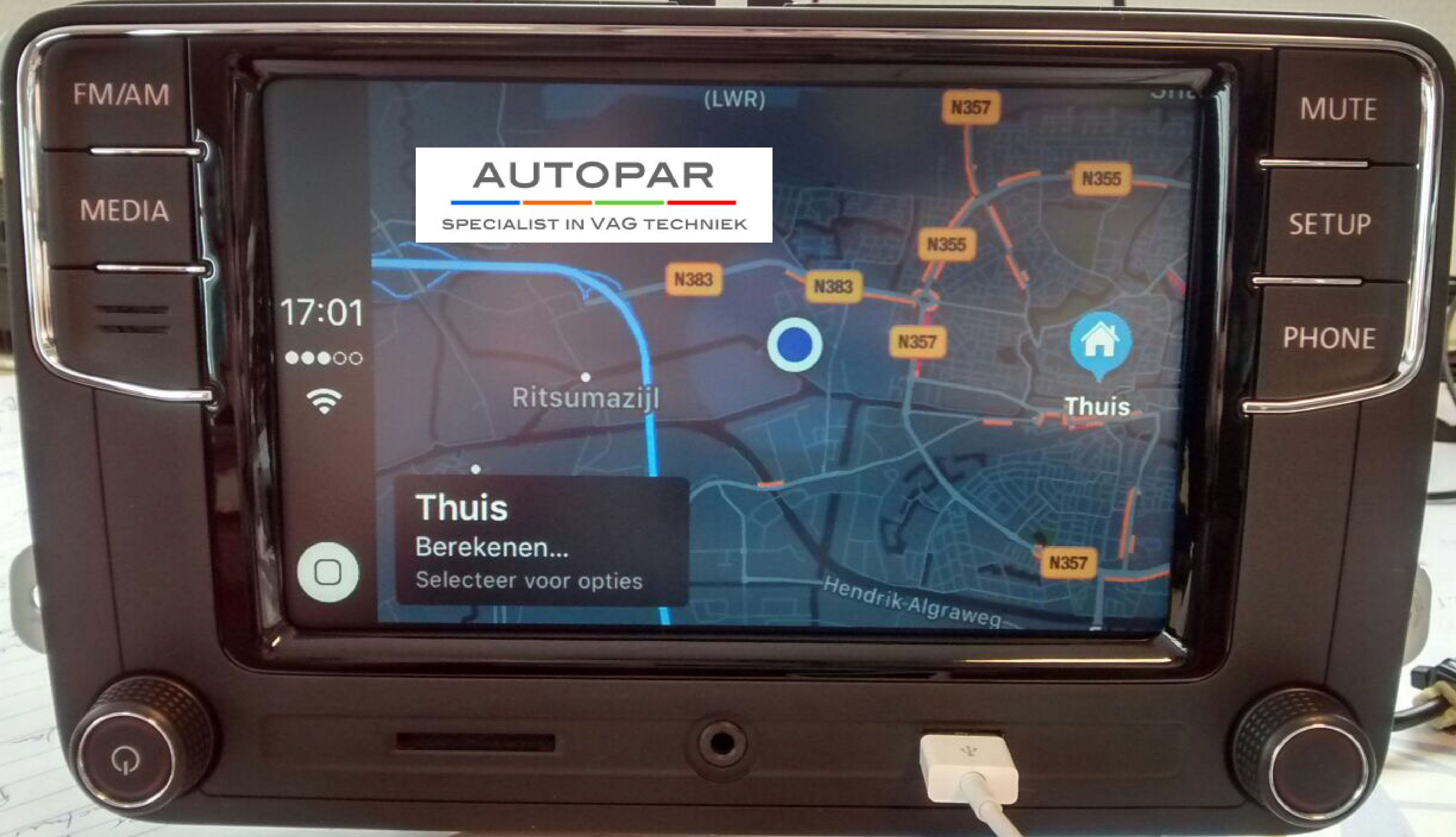 Autopar Volkswagen Apple Carplay