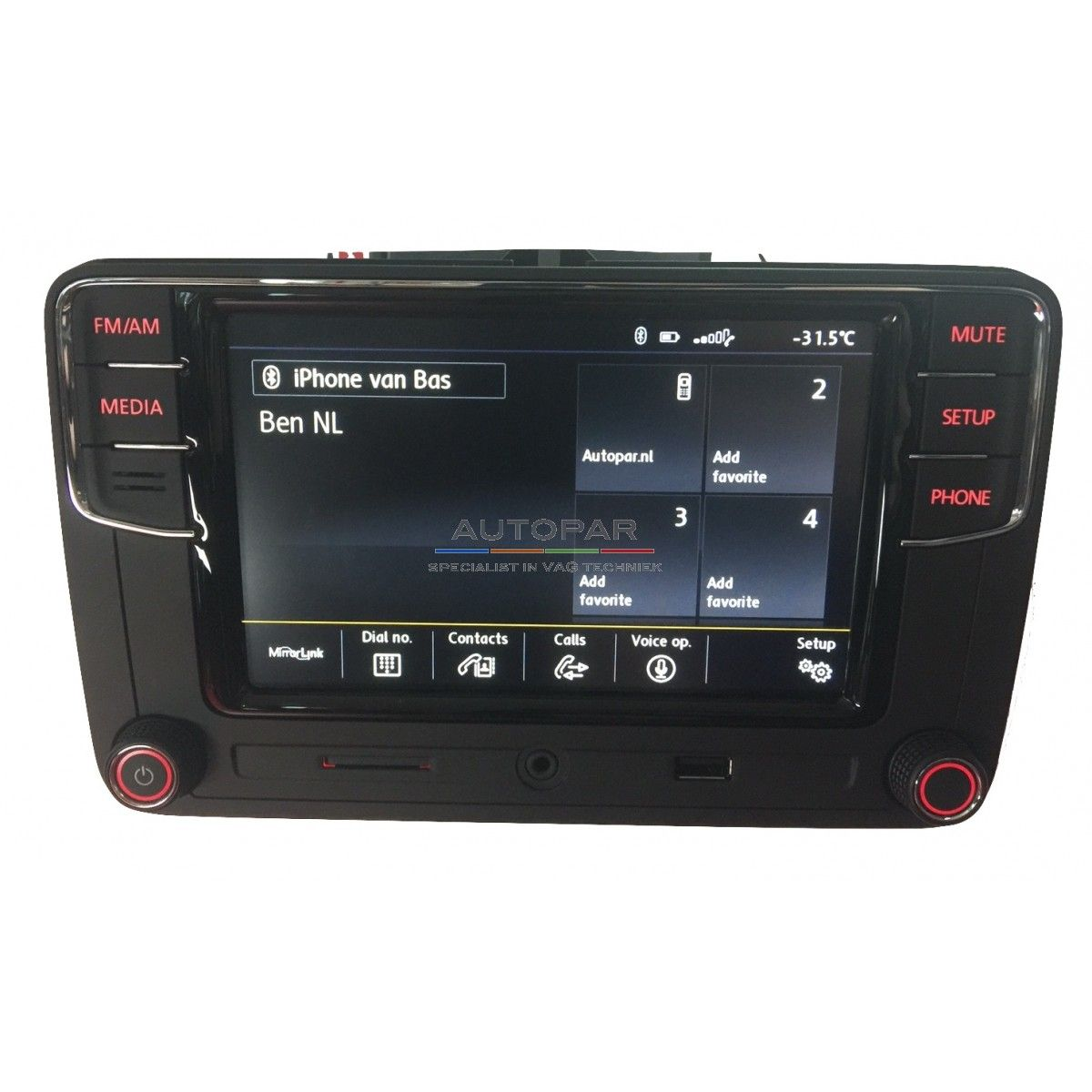 RCD660 Multimedia bluetooth radio Volkswagen