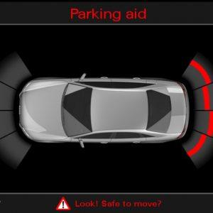 Parkeersensoren Audi A4 - Achter-0