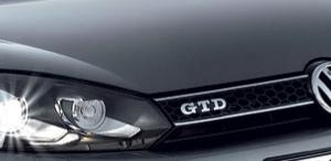 Golf 6 GTD Grille-0