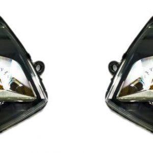 Set Xenon koplampen VW Transporter T5 Dynamisch met LED dagrijverlichting-0