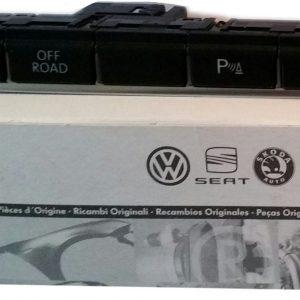 Drukknop Volkswagen nieuw 5N1927137AN-0