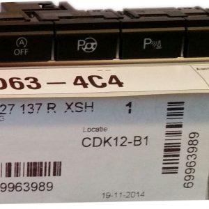 Drukknop Volkswagen nieuw 5N1927137R-0
