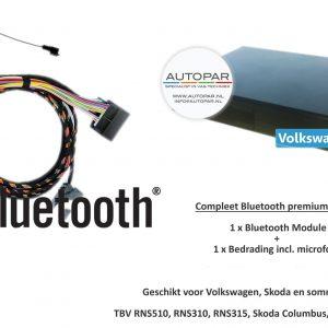 Volkswagen Bluetooth origineel inbouw