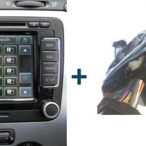 Navigatie pakket Handsfree bellen: RNS510 P nieuw + Premium Bluetooth + Inbouw-0