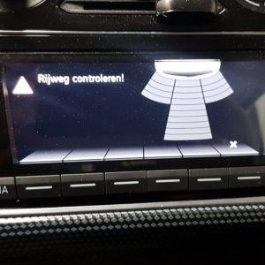 VW Up! achteruit rij sensoren parkeer