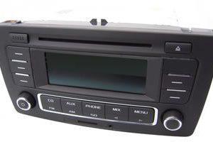 Skoda RCD360 Radio Bluetooth SD USB MP3 Alles-in-een-radio -0