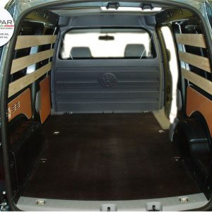 VW Caddy tussenschot cabine gestoffeerd-0