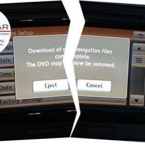 Navigatie update error verhelpen RNS510, Skoda Columbus, Seat Mediasystem-0