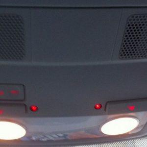 Binnenverlichtingunit W8 Red Glow Golf Passat enz-0