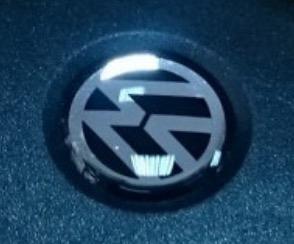 Volkswagen logo zwart wit sleutel