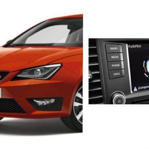 Seat Ibiza (2015-heden) parkeersensoren - Voor en Achter-0