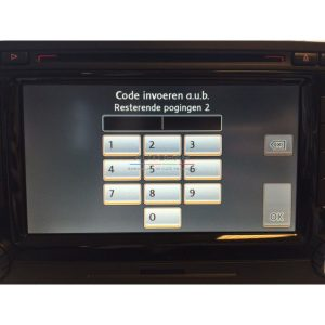 Skoda Radio code opvragen radio-0