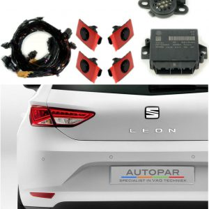 Parkeersensoren Seat Leon Achter 2014 - Heden-0