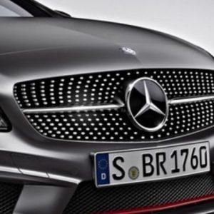 Mercedes-Benz A-Klasse Diamant Grill-0