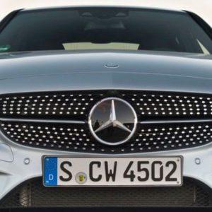 Mercedes-Benz C-Klasse Diamant Grill-0
