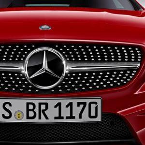 Mercedes-Benz CLA AMG Diamant Grill-0