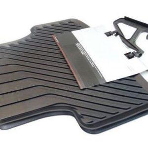 Originele Audi A3 rubber matten achterzijde zwart-0
