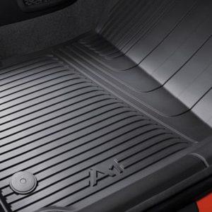 Audi A1 inleg rubberen voetmatten set achter-0