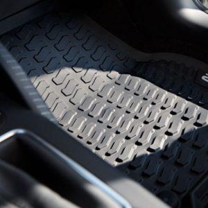 Audi Q2 2017, inleg rubberen voetmatten set voor