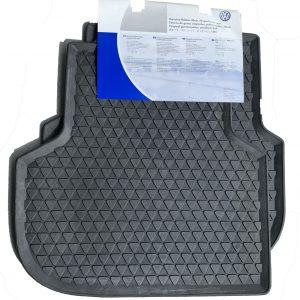Rubberen matten VW Up! voorzijde zwart
