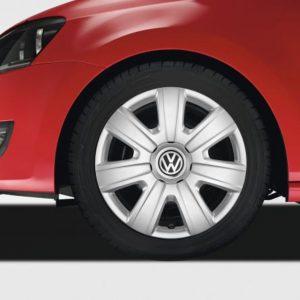 Volkswagen wieldoppen Polo 9N, 6R, 6C set 14 inch-0
