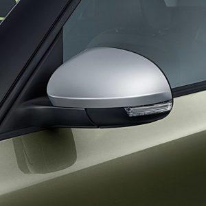 Spiegelkappen Skoda Yeti met aluminiumlook Origineel Skoda 5L0071719-0