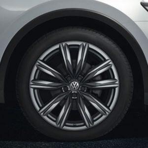 Lichtmetalen velg Cape Town origineel Volkswagen, 8 J x 20 galvano grijs metallic 5NA071490 Z49-0