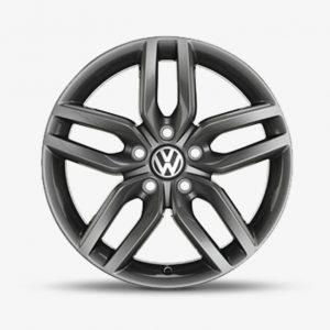 Lichtmetalen velg Helix origineel Volkswagen, 7 J x 17, antraciet 561071497 16Z-0