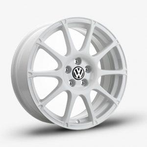 Lichtmetalen velg Motorsport origineel Volkswagen, 8 J x 19 wit 1K8071499A Y9C-0