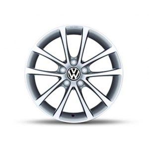 Lichtmetalen velgen Azuro Volkswagen, 7,5 J x 17, brilliant silver 3C0071497 666-0