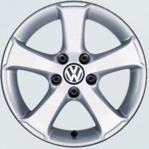 Lichtmetalen velgen Sima Volkswagen, 6,5 J x 16 brilliant silver 7H0071496A 8Z8-0