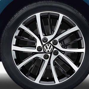 Lichtmetalen velgen Blade Volkswagen, 7J x 17, zwart glanzend 5G0071497 fzz-0