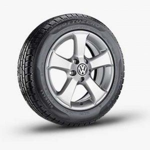 Lichtmetalen velg Sima origineel Volkswagen, 6 J x 17, brilliantsilver 3C0071497A 8Z8-0