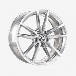 Lichtmetalen velg Pretoria origineel Volkswagen, 7.5 J x 18, zilver 5G0071498A 88Z-0