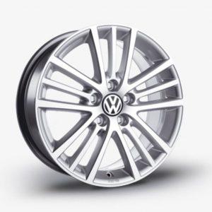 Lichtmetalen velg Onyx origineel Volkswagen, 7 J x 17, brilliantsilver, glansgedraaid 5K0071497 8Z8-0
