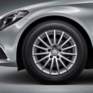 Lichtmetalen velgen Mercedes Benz, C-klasse, multispaaks velg 16 inch -0