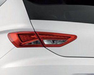 Origineel Seat Leon linker achterlicht met achteruitrijlicht binnenkant-0