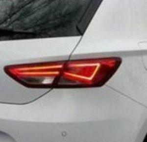 Origineel Seat Leon rechter achterlicht met achteruitrijlicht binnenkant-0