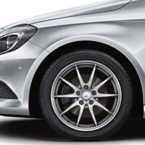 Lichtmetalen velgen Mercedes Benz, tienspaaks velg 17 inch -0