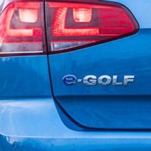 Volkswagen e-Golf embleem-0