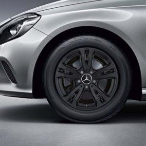 Lichtmetalen velgen Mercedes Benz, vijf-dubbelspaaks velg 16 inch -0