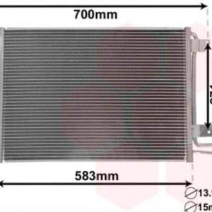 Condensor Airco met droger 550x390x16-0