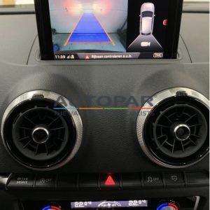 Audi A3 achteruitrijcamera autopar interieur