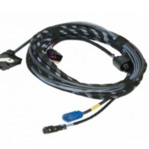 Skoda Rapid kabel achteruitrijcamera