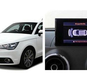 Parkeersensoren Audi A1 uitbreiding voor-0