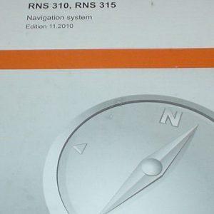Handleiding / Instructieboekje RNS315 origineel VW-0