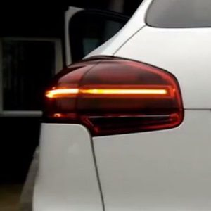 Dynamisch achterlicht Porsche Cayenne