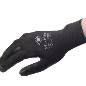 Werkhandschoen Pu-Coating op een nylon drager-0